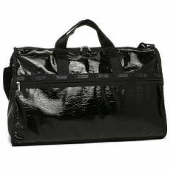 【あす着】レスポートサック バッグ LESPORTSAC 7185 M098 LARGE WEEKENDER ボストンバッグ BLACK CRINKLE PATENT