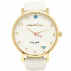 ケイトスペード 時計 レディース KATE SPADE 1YRU0765 KSWB0765 NOVELTY METRO ノベルティメトロ 腕時計 ウォッチ ホワイト/ゴールド