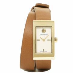 【あす着】トリーバーチ 時計 TORY BURCH TRB2007 BUDDY SIGNATURE 日常生活防水 腕時計 ウォッチ アイボリ−/ブラウン