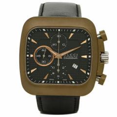 【あす着】グッチ 時計 メンズ GUCCI YA131204 グッチクーペ 腕時計 ウォッチ ブラック