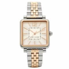 【あす着】マークジェイコブス 時計 MARC JACOBS MJ3463 VIC30 ヴィク30 腕時計 ウォッチ シルバーローズゴールド/ホワイト