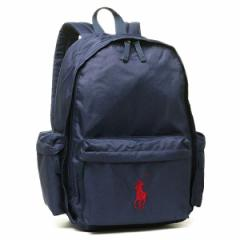 【あす着】ポロPOLO RALPH LAUREN 950224 CLASSIC PONY BACKPACK LARGE リュックサックNEWPORT NAVY/RED PP