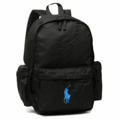 【あす着】ポロ バッグ POLO RALPH LAUREN 950242 CLASSIC PONY BACKPACK LARGE リュックサック  BLACK/ROYAL PP