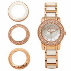 フォリフォリ 腕時計 レディース FOLLIFOLLIE WF2B029BSP   ウィンターワンダー ジルコニア ピンクシェル/ピンクゴールド/ホワイト tem_b
