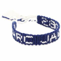 【あす着】マークジェイコブス ブレスレット MARC JACOBS M0008565 483 CHARMS MACRAME BRACELET VERSION 1 バングル CELESTIAL BLUE