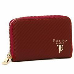 【あす着】フルボデザイン メンズ 小銭入れ Furbo design FRB114 レッドブラック