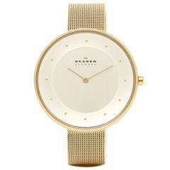 【あす着】スカーゲン SKAGEN 腕時計 時計 SKW2141 MESH ステンレスメッシュ ウォッチ ゴールド/シルバー