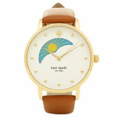 【あす着】ケイトスペード 腕時計 KATE SPADE KSW1073 ホワイト ブラウン