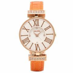 【あす着】フォリフォリ 腕時計 FOLLI FOLLIE WF13B014SSW OR2 ホワイト ローズゴールド オレンジ tem_b