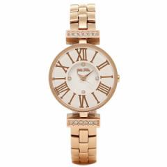 【あす着】フォリフォリ 腕時計 FOLLI FOLLIE WF15B028BSW XX ホワイト ローズゴールド tem_b