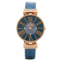 【あす着】フォリフォリ 腕時計 FOLLI FOLLIE WF13B014SSUBL ブルー ピンクゴールド tem_b