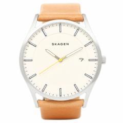 【あす着】スカーゲン 腕時計 SKAGEN SKW6282 シルバー ブラウン