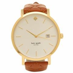 【あす着】ケイトスペード 腕時計 KATE SPADE KSW1161 シルバー ゴールド ブラウン