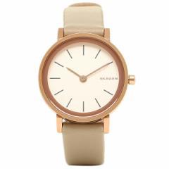 【あす着】スカーゲン 腕時計 SKAGEN SKW2494 ホワイト アイボリー ローズゴ−ルド