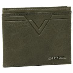 ディーゼル メンズ 二つ折り財布 DIESEL X03932 PR227 T8013 カーキ