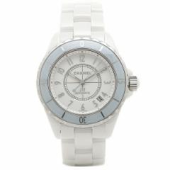 【あす着】シャネル 腕時計 レディース CHANEL H4341 J12 ジェイトゥエルヴ ソフトブルー ホワイト