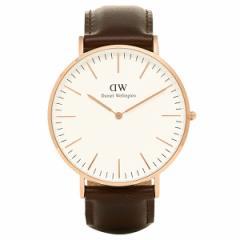 【あす着】ダニエルウェリントン 腕時計 Daniel Wellington DW00100009 BRISTOL ROSEGOLD ローズゴールド