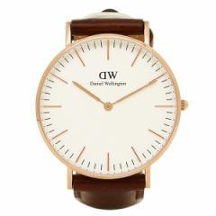 【あす着】ダニエルウェリントン 腕時計 Daniel Wellington DW00100035 STANDREWS ローズゴールド