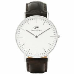 【あす着】ダニエルウェリントン 腕時計 Daniel Wellington DW00100055 YORK SILVER シルバー