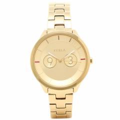 【あす着】フルラ 腕時計 FURLA R4253102504 イエローゴールド