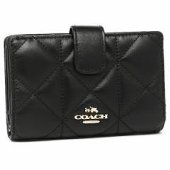 【あす着】コーチ 折財布 アウトレット COACH F55673 IMBLK ブラック