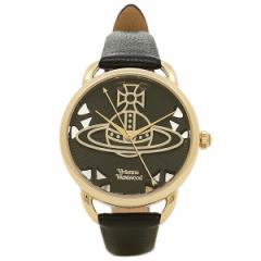 【あす着】ヴィヴィアン ウエストウッド レディース腕時計 VIVIENNE WESTWOOD VV163BKBK ブラック ゴールド