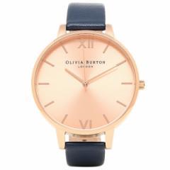 【あす着】オリビアバートン レディース腕時計 OLIVIA BURTON OB13BD13B ネイビー ローズゴールド