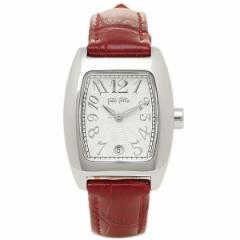 フォリフォリ 腕時計 FOLLI FOLLIE S922 DARK RED ワインレッド シルバ− tem_b