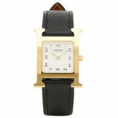 【あす着】エルメス 腕時計 HERMES HH1.201.131/UNO W036733WW00 ブラック ホワイト イエローゴールド