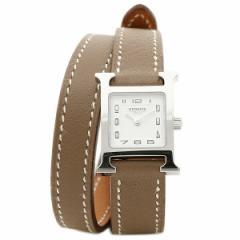 【あす着】エルメス 腕時計 HERMES HH1.110.131/WW182 W037884WW00 エトゥープ ホワイト シルバー