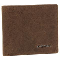 ディーゼル 折財布 DIESEL X03363 P1075 H6183 ブラウン/ブルー