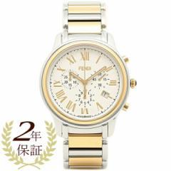 フェンディ 腕時計 FENDI F252114000 ホワイト シルバー ゴールド