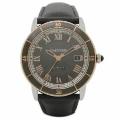 カルティエ 腕時計 CARTIER W2RN0005 ブラック ピンクゴールド