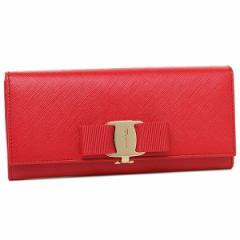 【あす着】フェラガモ 長財布 レディース Salvatore Ferragamo 22B559 656950 レッド