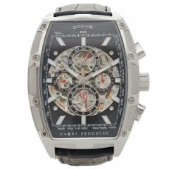 ゾンネ 腕時計 SONNE H018SS-NV            ネイビー シルバー