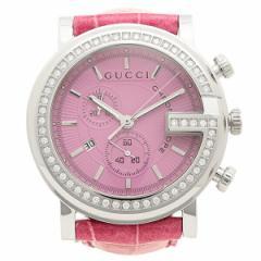グッチ 腕時計 GUCCI YA101313 ピンク シルバー m_bf