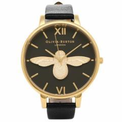 【あす着】OLIVIA BURTON 腕時計 オリビアバートン OB15AM64 ブラック/ゴールド