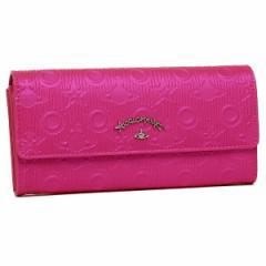 【あす着】ヴィヴィアンウエストウッド 長財布 レディース VIVIENNE WESTWOOD 390011 ピンク