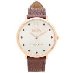 【あす着】COACH 腕時計 コーチ 14502694 チェリーレッド ゴールド シルバー レディース