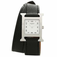【あす着】HERMES 時計 レディース エルメス W036716WW00 HH1.210.131/UNO1 ブラック/シルバー/ホワイト