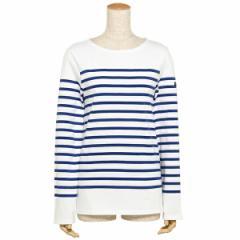 【あす着】セントジェームス ナヴァル NAVAL メンズ レディース ロングTシャツ SAINT JAMES 2691 90 ホワイト ブルー