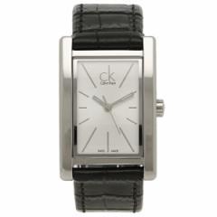 CALVIN KLEIN レディース 腕時計 カルバンクライン K4P231C6 シルバー ブラック