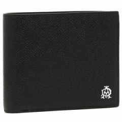 【あす着】ダンヒル 折財布 メンズ DUNHILL L2AC32A ブラック