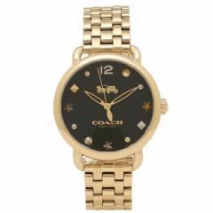 【あす着】コーチ 腕時計 レディース COACH 14502813 イエローゴールド ブラック