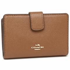 【あす着】コーチ 折財布 アウトレット レディース COACH F54010 IMSAD ブラウン