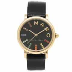 【あす着】マークジェイコブス 腕時計 レディース MARC JACOBS MJ1592 ブラック イエローゴールド マルチカラー