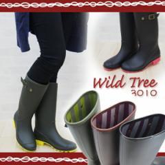 WILDTREE ワイルドツリー レインブーツ レディース 全3色 3010 Wild Tree レディース 婦人 長靴 雨 ロング丈 ガーデニング