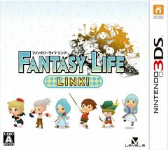 中古ゲーム/ 3DS ソフト / ファンタジーライフ LINK! CTR-P-BLKJ 2500円以上送料無料