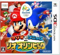 中古ゲーム/ 3DS ソフト / マリオ&ソニック AT リオオリンピック CTR-P-BGXJ 2500円以上送料無料