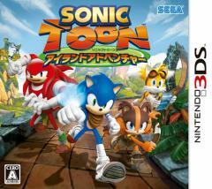 中古ゲーム/ 3DS ソフト / ソニックトゥーン アイランドアドベンチャー CTR-P-BSYJ 2500円以上送料無料